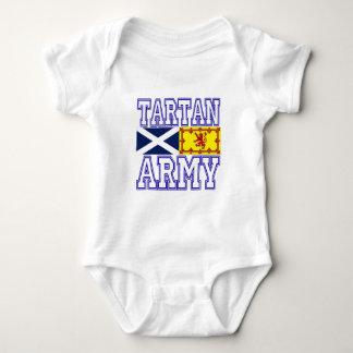 Tartan Army Baby Bodysuit