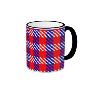 Tartan Army Plaid Coffee Mugs