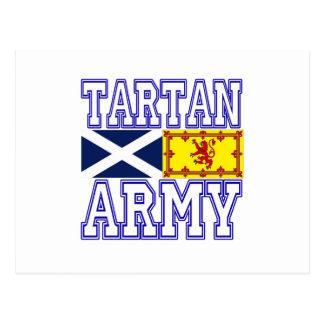 Tartan Army Postcard