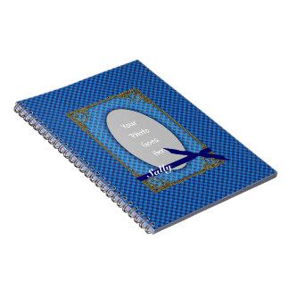 Tartan BLUE Photo Notebook
