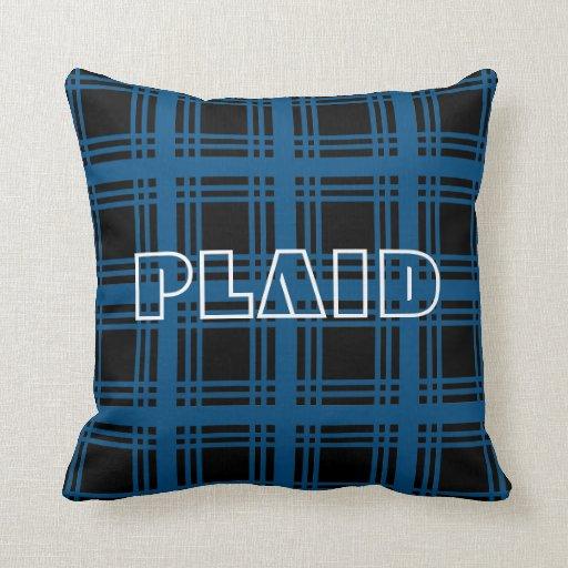Tartan (Blue) Pillow