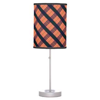 Tartan Burnt Sienna Table Lamp