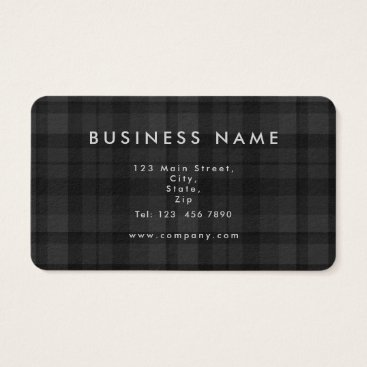 Tartan Business Card