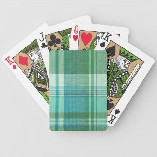Tartán Baraja Cartas De Poker