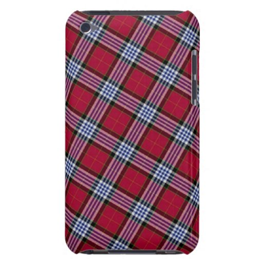 Tartan Barely There iPod Cover