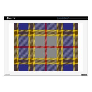 """Tartan Clan Balfour Decal For 17"""" Laptop"""