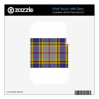 Tartan Clan Balfour Decal For iPod Touch 4G