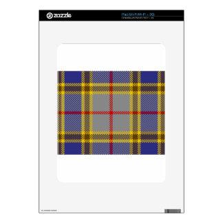 Tartan Clan Balfour Decal For The iPad