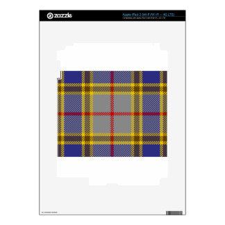 Tartan Clan Balfour iPad 3 Decal