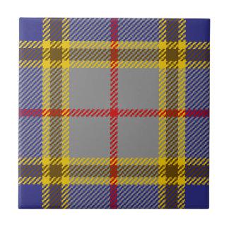 Tartan Clan Balfour Tile