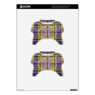 Tartan Clan Balfour Xbox 360 Controller Skin