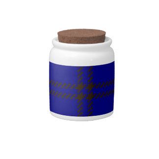 Tartan Clan Oliphant Candy Jar