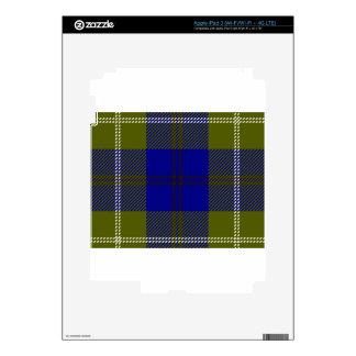 Tartan Clan Oliphant iPad 3 Skin