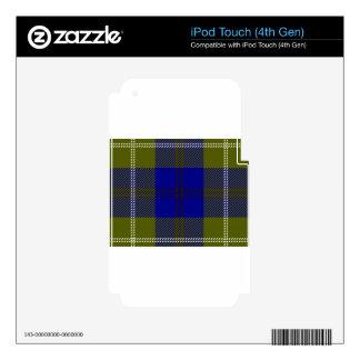 Tartan Clan Oliphant iPod Touch 4G Skins