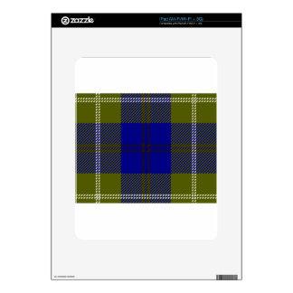 Tartan Clan Oliphant Skin For iPad