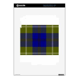 Tartan Clan Oliphant Skins For The iPad 2