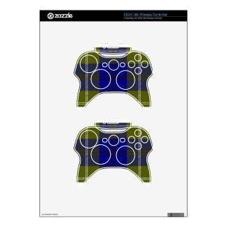 Tartan Clan Oliphant Xbox 360 Controller Skins