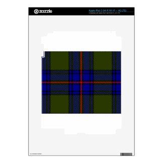 Tartan Clan Shaw iPad 3 Decal