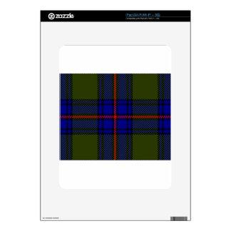 Tartan Clan Shaw iPad Skins