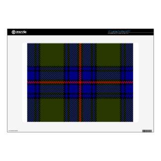 Tartan Clan Shaw Laptop Skin