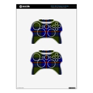 Tartan Clan Shaw Xbox 360 Controller Skin