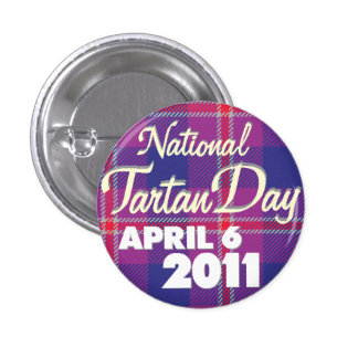 Tartan Day 2011: Mini Pinback Button