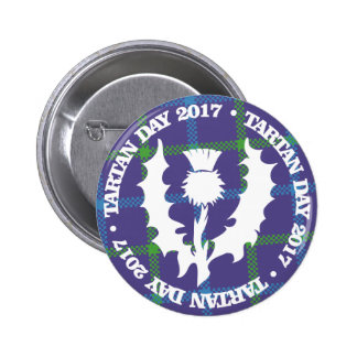Tartan Day Button 2017