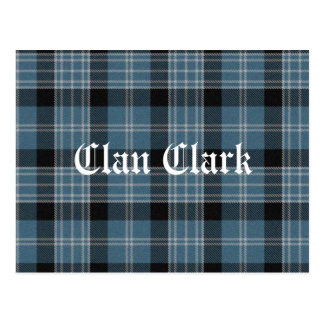 Tartán de Clark del clan Postal