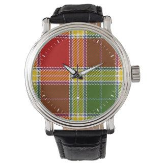 Tartán de Gibson del clan Reloj De Mano