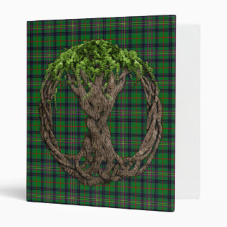 Tartán de Kennedy del clan y árbol de la vida célt