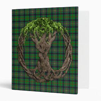 """Tartán de Kennedy del clan y árbol de la vida célt Carpeta 1"""""""