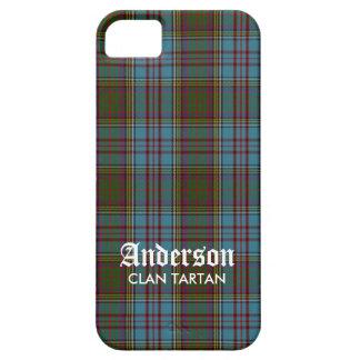 Tartán de la familia del clan de Anderson (con iPhone 5 Carcasa