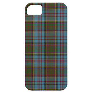 Tartán de la familia del clan de Anderson iPhone 5 Carcasas