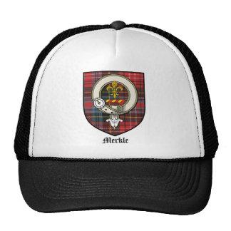 Tartán de la insignia del escudo del clan de gorra