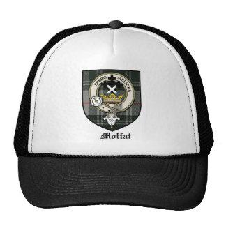 Tartán de la insignia del escudo del clan de Moffa Gorras De Camionero