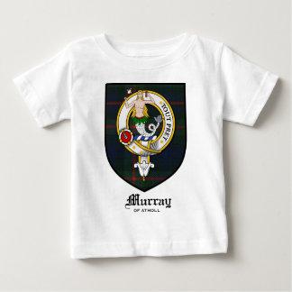 Tartán de la insignia del escudo del clan de polera