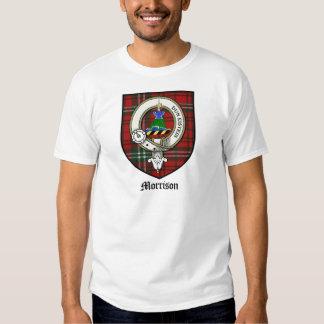 Tartán de la insignia del escudo del clan de poleras