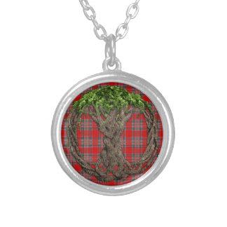 Tartán de MacBean del clan y árbol de la vida célt Colgantes