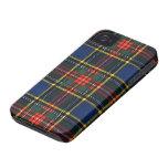 Tartán de Macbeth Case-Mate iPhone 4 Protector