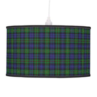 Tartán de MacEwen del clan del tacto del escocés Lámpara De Techo