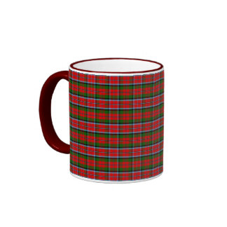 Tartán de MacNaughton del clan Taza De Café