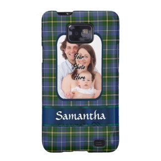 Tartán de Nueva Escocia Samsung Galaxy S2 Carcasa