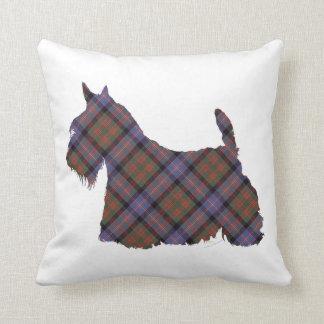 Tartán de Terrier Cochran del escocés Cojines