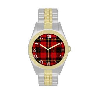 Tartán de Wallace del clan Reloj De Mano