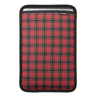 Tartán del distrito de Dunbar Escocia Fundas MacBook