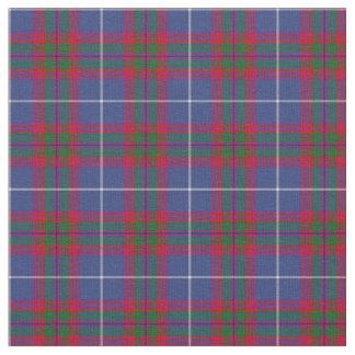 Tartán del distrito de Edimburgo Escocia Telas