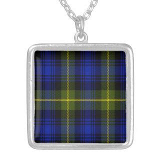 Tartán del escocés de Acheson Colgante Cuadrado