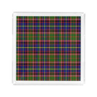 Tartán del escocés de Aikenhead Bandeja Cuadrada
