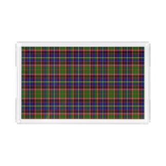 Tartán del escocés de Aikenhead Bandeja Rectangular
