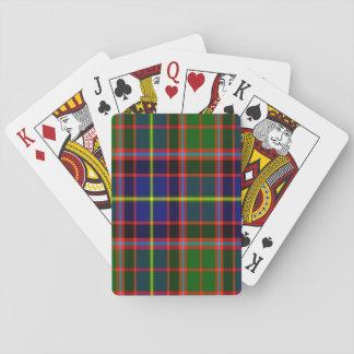 Tartán del escocés de Aikenhead Barajas De Cartas